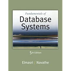 Book Cover: [request_ebook] Fundamentals of Database Systems (5th Edition)