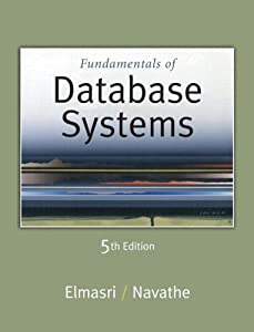 "Cover of ""Fundamentals of Database System..."