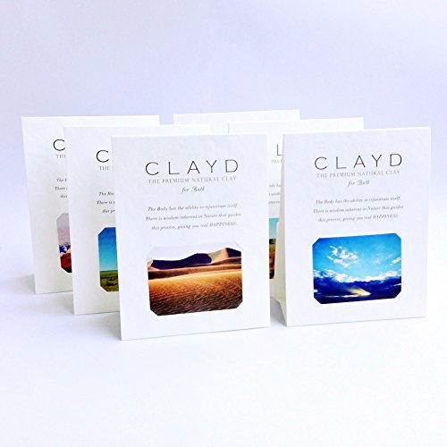 CLAYD for Bath ONETIME 6PACK