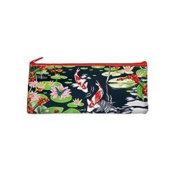 Coelacanth Pencil Bag, Pond Flower