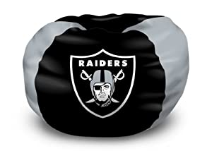 Northwest Oakland Raiders Bean Bag Chair - Oakland Raiders One Size by Northwest