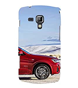 Stylish Car Cute Fashion 3D Hard Polycarbonate Designer Back Case Cover for Samsung Galaxy S Duos S7562