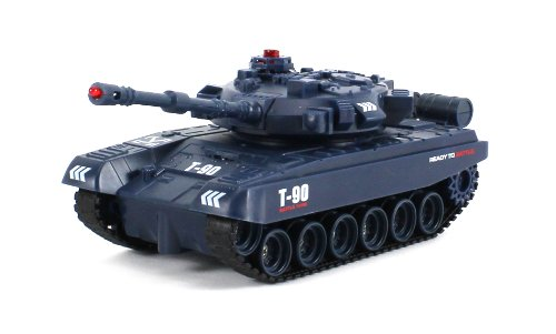 Jxd Combat T-90 Rex Electric Rc Tank Infrared Combat Battle Tri-Band Remote 1:48 Scale Ready To Run Rtr