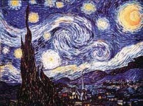 art prints and posters, vincent van gogh starry night
