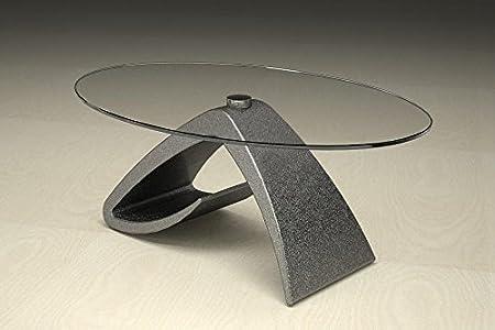 Mesa de centro de mármol base del diván Modelo. Tritone - Cm 100 x 65 - altura: cm 41 - Acabado: bruñido