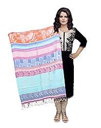IndistarFashion Women Multicolor Viscose Shawl