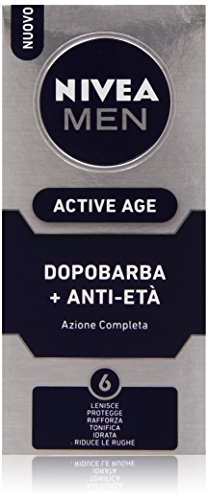 Nivea Men - Active Age, Dopobarba Anti-Età, Azione Completa - 75 ml