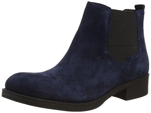 ESPRIT Cezanne TG, Stivaletti a gamba corta mod. Chelsea, imbottitura leggera donna, Blu (Blau (400 navy)), 40