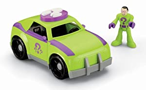 Fisher-Price Imaginext DC Super Friends The Riddler and Car