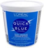 L'OREAL Technique Quick Blue Powder Bleach for On & Off Scalp Application 1lb/453.6g