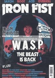 iron fist ( issue 16 ) 2015 W.A.S.P (Iron Fist Magazine compare prices)