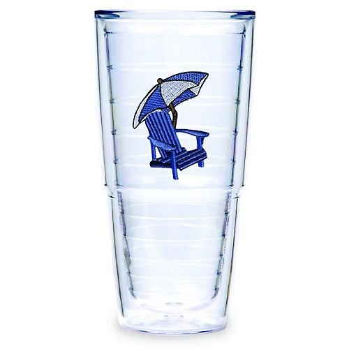 Tervis 24 oz. Big T Adirondack Blue Chair Tumbler