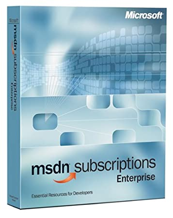 Microsoft MSDN Enterprise Subscription 7.0 [Old Version]
