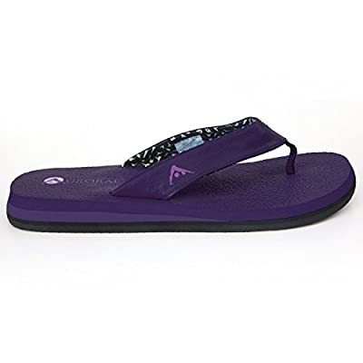 Aurorae Women's Yoga Mat Flip Flop, Non Toxic and Eco Safe