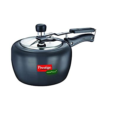 Home and Kitchen Cookware Duo 2 ltrs Pressure Cooker (Black)