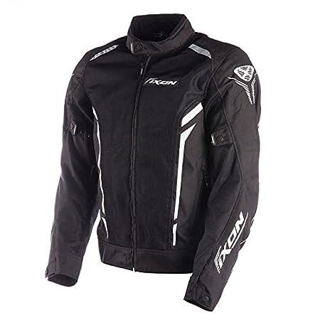 IXON IXONCOOLER Blouson Textile Cooler, Noir Blanc, Taille XL