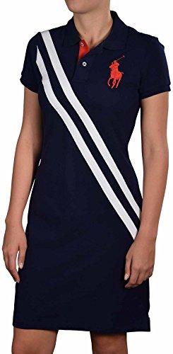 Polo Ralph Lauren Women'S Sport Big Pony Dress-Navy/White-Xs