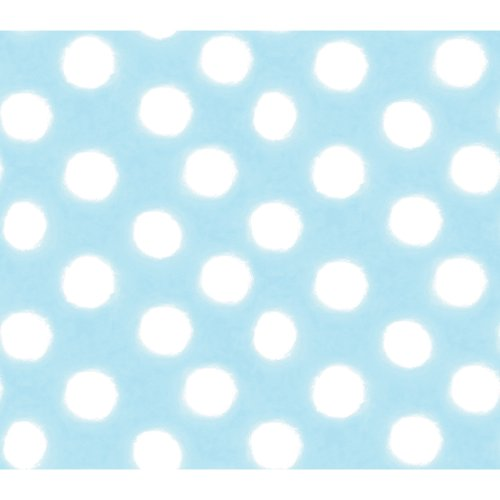 Imperial Disney Home DF059752 Soft Circle Wallpaper, Blue, 20.5-Inch Wide