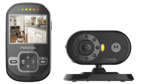 Motorola Pet Scout600 Remote Wireless Pet Monitor With 2.4-Inch Color Lcd Screen, Infrared Night Vision, Remote Camera Pan And Tilt