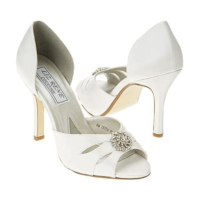 Wedding Shoes by Liz Rene Couture with accessories.