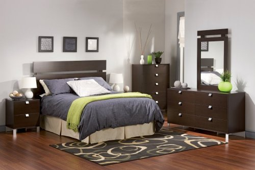 Cheap Kids Bedroom Furniture Set 2 in Chocolate – South Shore Furniture – 3259-BSET-2 (3259-BSET-2)