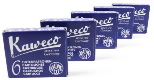 Kaweco 30 cartouches d'encre Bleu/noir
