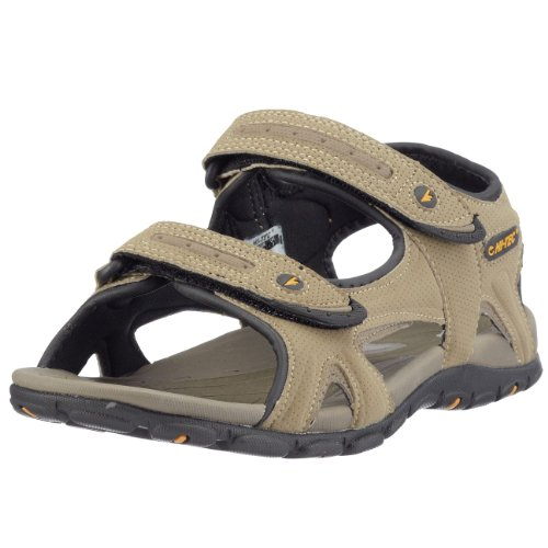 Hi-Tec Men's Owaka Smokey Brown/Taupe/Dijon Sandal F000453/042/01 11 UK, 45 EU, 12 US