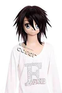 CosplayerWorld DEATH NOTE L.Lawliet Wig 41cm 16inch Cosplay Wig Fashion Girls and Boys Anime Wig Party Wigs