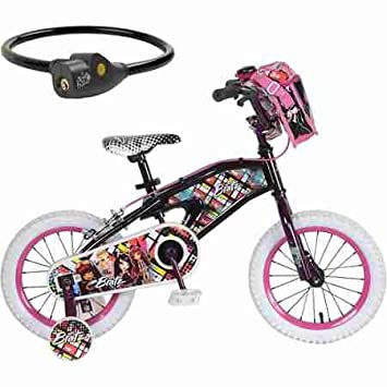Bike Rims At Walmart Bratz quot Black Bike with Lock