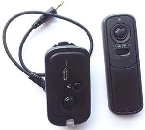 Pixtic - Télécommande sans fil radio MC-DC2 pour Nikon D90 D3100 D3200 D5000 D5100 D7000 D600