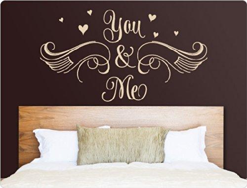 """I-love-Wandtattoo 11625 Wandtattoo """"You & Me"""""""