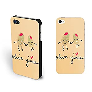 Design Love Couple Drawing Iphone 4 Case Cover Monogrammed Simple Cute