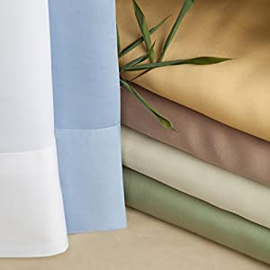 Luxurious Bamboo Viscose Sheet Set - White - Pearl White - California King
