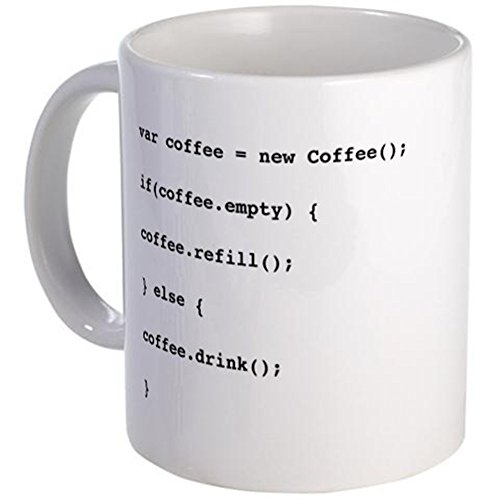 CafePress - Programmer's Coffee Mug - Unique Coffee Mug, 11oz Coffee Cup