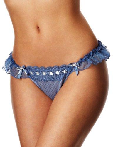 Curvy Kate Tease Me Thong Low Rise Women's Thong