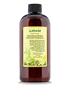 Nutritive Herbal Gel with Vitamins by Just Natural Products