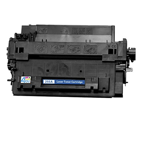 Ink & Toner 4 You ® Compatible Black Laser Toner Cartridge for HP CE255A (55A) Works With HP Enterprise 500 MFP M525dn Enterprise 500 MFP M525f Enterprise flow MFP M525c LaserJet P3010 LaserJet Pro MFP M521dn LaserJet Pro MFP M521dw Laserjet P 3015X Lase lcl 130a cf350a cf351a cf352a cf353a 5 pack compatible laser toner cartridge for hp color laserjet pro mfp m176n m177fw