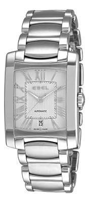 Ebel Men's 9120M41/62500 Brasilia Silver Roman Numeral Dial Watch