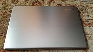 "Toshiba Satellite E55T-A5320 Ultrabook 15.6"" Touch Screen Laptop - 4th Gen Intel Core i5 / 4GB DDR3 / 500GB HD / Back-kit Keyboard/ Intel Wireless Display(WiDi)/Windows 8.1 64-bit (Smart Silver Brushed Aluminum)"