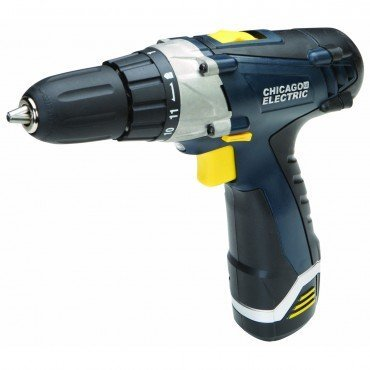 Chicago Pro Lithium Ion Cordless Drill Driver 12 Volt 3/8""