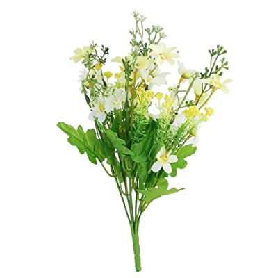 1 Bunch of Cineraria Artificial Flower Bouquet Home Office Decor