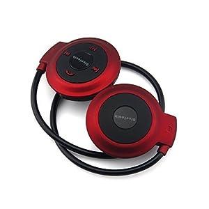 IBEE Mini503 Sports Bluetooth headset Wireless Stereo Headphones W/mic for iphones(Red)