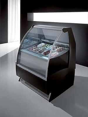 ITALIANA Gelato Ice Cream Showcase Display Freezer /Gelato Machine G10 (5 Liter Pan / 7 Flavors) by OTL/Orion