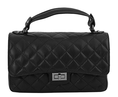 slingbag lilly ii abendtasche clutch aus echtem leder. Black Bedroom Furniture Sets. Home Design Ideas