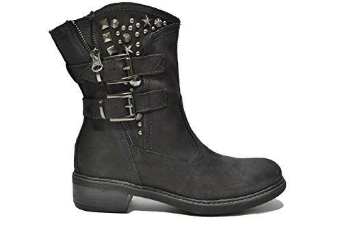 Nero Giardini Tronchetti scarpe donna nero 1631 A411631D 36