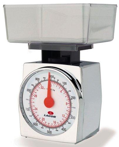 Lacor 61702 Balance de Cuisine 1 Kilo Graduation 5 Grammes