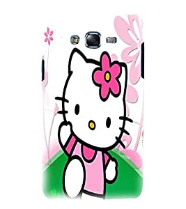 printtech Kitty Cat Cute Back Case Cover for Samsung Galaxy J7 (2016 )