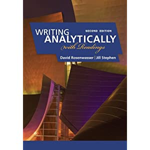 writing analytically chapter 1 Learning to write well requires learning to use writing as a tool to think well--and this book shows you how writing analytically leads you through the proc.