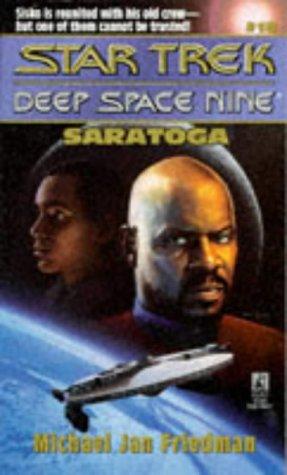 Image for Saratoga (Star Trek Deep Space Nine, No 18)