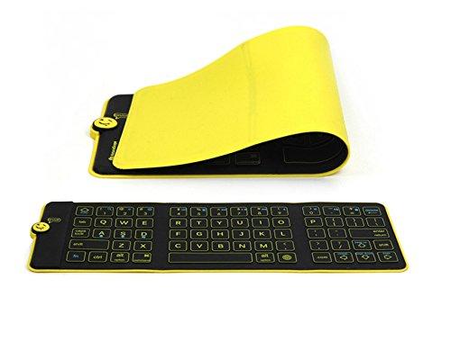 Bluetooth ワイヤレス キーボード 折りたたみ バッテリー内蔵 ブルートゥース ポータブル iPad iPhone Android アンドロイド スマホ タブレット パソコン適用